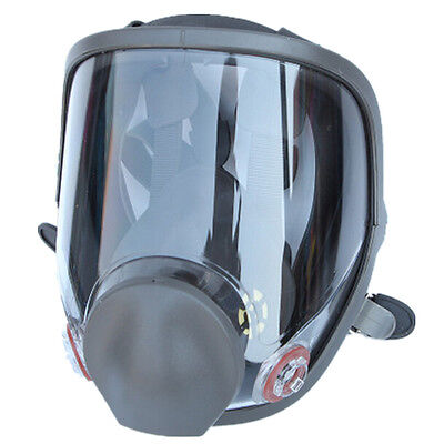 large For 3M 6800 Gas Mask Full Facepiece Respirator wide field view Reusable