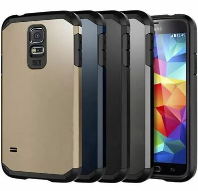 Shockproof 360° Silicone Protective Case Cover For Samsung Galaxy S5