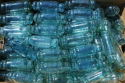 10 Vintage Japanese Glass Rolling Pin Fishing Floats / 5 - 5 1/2 inches long