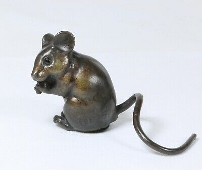 Solid Hot Cast Bronze Dormouse Limited Edition