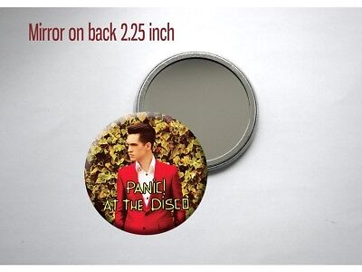 """Panic! At the Disco Death Of a Bachelor Brendon Urie 2.25"""" Pocket/Purse Mirror"""
