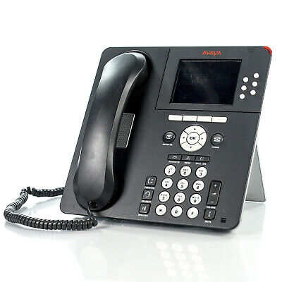 "Avaya 9640 3.8"" Color Display One-X IP VoIP Digital Business Phone 700383920"