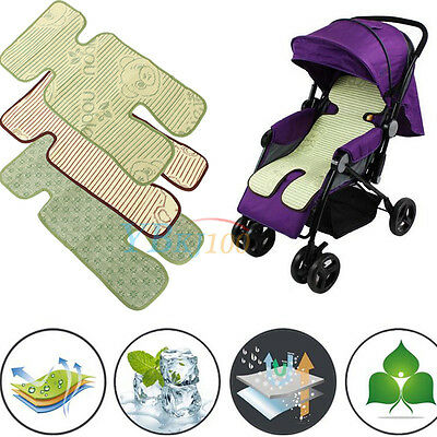 Summer Cool Mat Straw Pad for Baby Stroller Pram Pushchair Carriage Buggy Seat