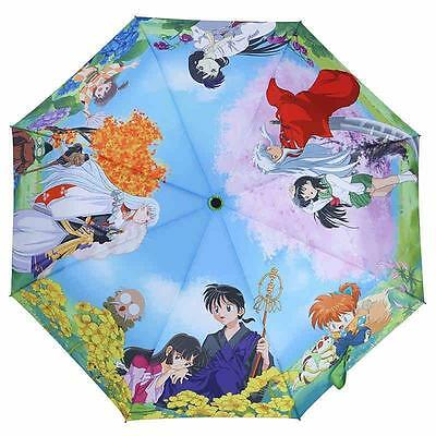 Japanese anime Inuyasha cartoon umbrella Inuyasha Manga Foldable Sunny Umbrellas