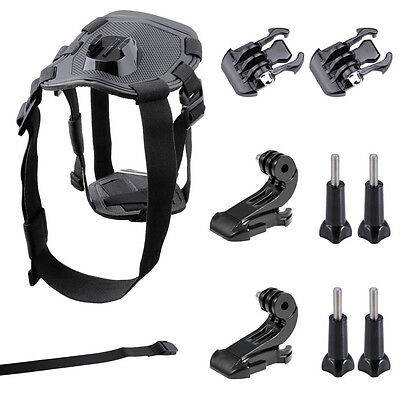 Neewer Support Accessoire Harnais Poitrine Chien Animal pour GoPro Hero 4 3 2 1