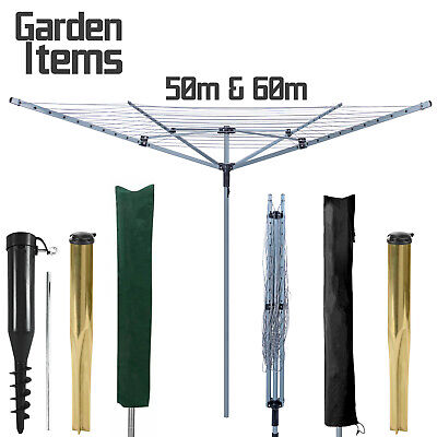 4 Arms Steel/aluminum Rotary Airier Laundry Cloth Washing Dryer Line Outdoor