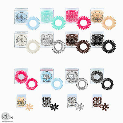 Invisibobble Traceless Hair Ring & Bracelet Original Nano Power Range Colours