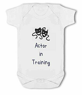 Actor in Training blue - Baby Vest