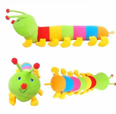Plush Caterpillar Toys Pillow Home Decor Baby Kids Cute Gift Animals Doll Toy