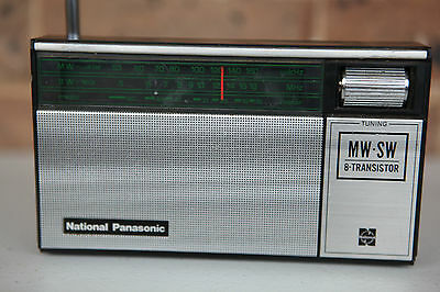 National Panasonic R-217R MW/SW 2 Band Radio