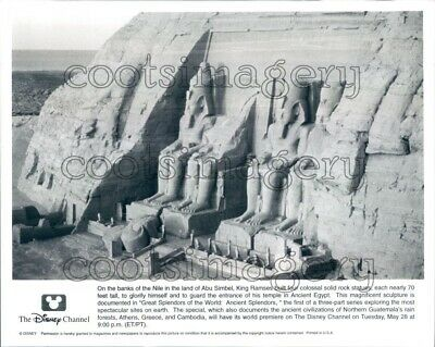 Ramses II Statue Abu Simbel Temples Egypt Press Photo