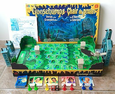 Vintage Goosebumps Terror In The Graveyard Board Game 99% Complete! 1995 MB