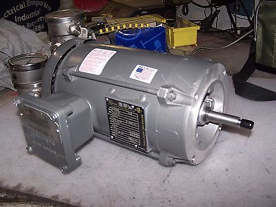 New Baldor 1-1/2 Hp Explosion Proof Electric Motor 230/460 Vac 3450 Rpm 56J Fra