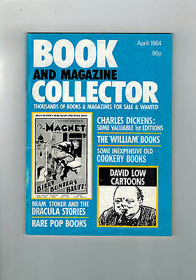 BOOK AND MAGAZINE COLLECTOR No. 2 April 1984 Charles Dickens etc