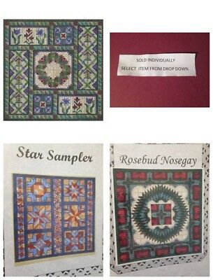Nancy's Needle Regional Quilt Series Canvaswork Chart Your Choice -