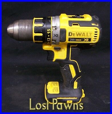 "Dewalt DCD790 Cordless 20v Lithium Ion 1/2"" Drill Driver Tool Only"