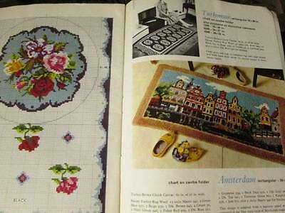Rugcraft Pattern Booklet SC75-Amsterdam/Zodiac/Jacobean/Compass/Poodles/Roses, P
