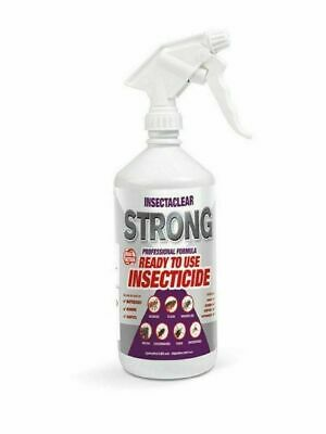 Bedbug spray Insectaclear Strong killing poison for control of bed bugs