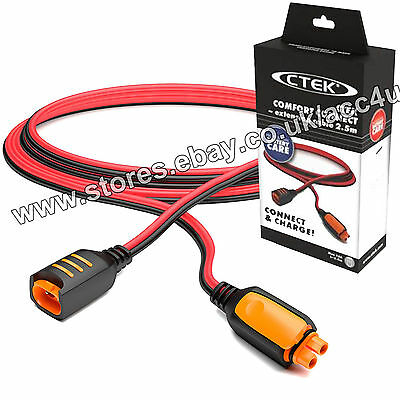 CTEK Car Charger Comfort Connect System Max 10A 2.5 Meter Extension Lead Cable