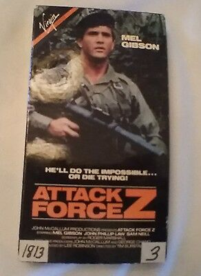 Video - Action Force Z VHS  with Mel Gibson