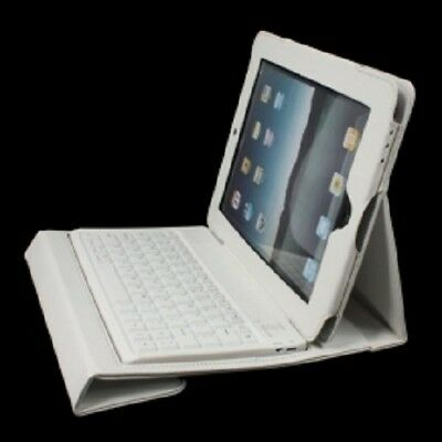 For Apple iPad 2/3/4 Bluetooth Wireless Keyboard With Stand Leather Case Cover