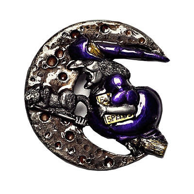 Witches Broom Witch Belt Buckle Witches Buckle 459