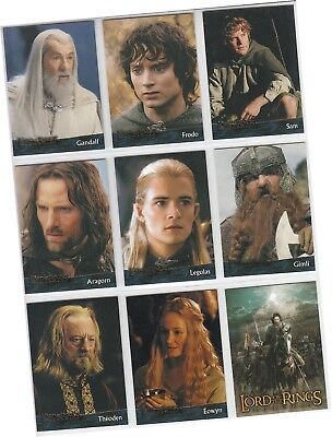 LOTR Lord Of The Rings: The Return Of The King - 90 Card Basic/Base Set (2003)