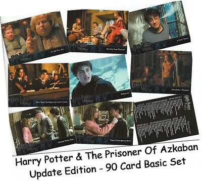 Harry Potter & The Prisoner Of Azkaban Update - 90 Card Basic/Base Set #91-180
