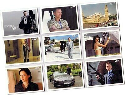 "James Bond Archives 2014 - 99 Card ""Casino Royale"" Basic/Base Set + P1 Promo"