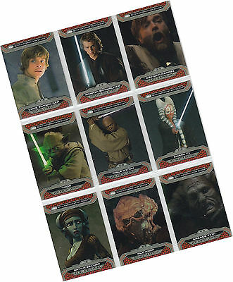 Star Wars Chrome Perspectives 2 Jedi Vs Sith - 100 Card Basic/Base Set