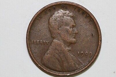 Up for Sale One Very Nice 1909-P VDB Lincoln Cent Grading Fine (Stock #: LPX816)