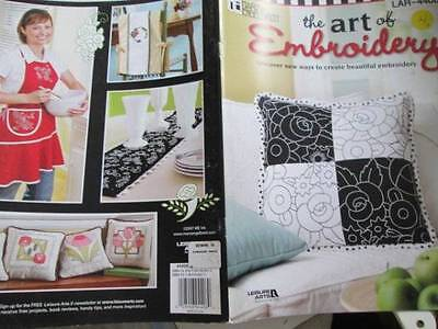 Mary Engelbreit Art Of Embroidery Book-Kitchen/Flowers/Tea