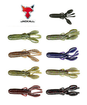 """JACKALL COVER CRAW 4"""" 6 PACK select colors"""