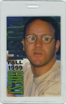 PHISH 1999 FALL TOUR LAMINATED BACKSTAGE PASS Guest