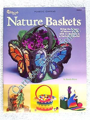 Nature Baskets In Plastic Canvas Charts Bright & Lovely