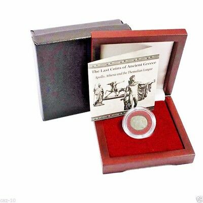 The Last Coin Of Ancient Greece Apollo,Athena and the Thessalian League,Boxed