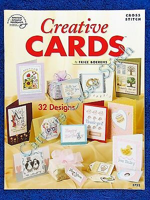 Cross Stitch Pattern for Cards Creative Cards 32 Designs Mother Birthday Baby