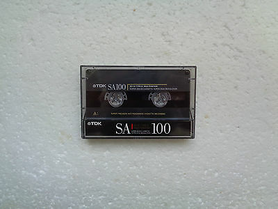 Vintage Audio Cassette TDK SA 100 From 1990 - Fantastic Condition !!