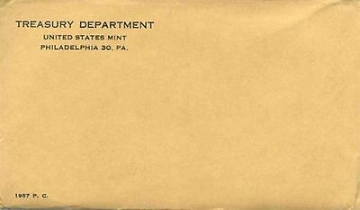 Extremely RARE!!! 1957 Unopened Mint Proof Set! Possible Rare Errors/Varieties!