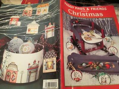 Paddy Paws & Friends Christmas Painting Book-Chase-North Pole Village/Bunnie