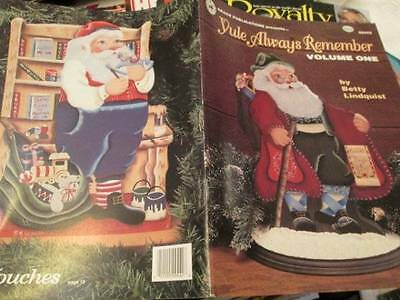 Yule Always Remember Painting Book #1-Lindquist-Santas (Bavarian & With Bibl
