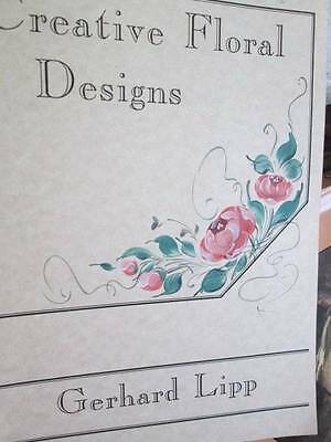 Creative Floral Designs Painting Pattern Book-Gerhard Lipp