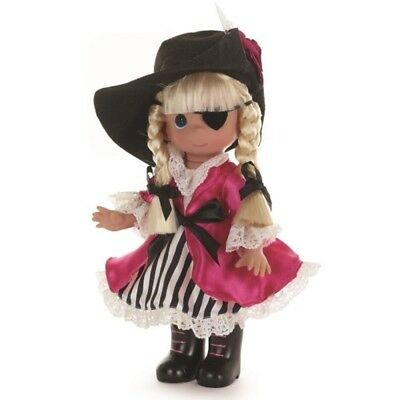 Precious Moments 9 Inch Doll, I Found My Treasure In You, Pirate Girl, New 3542
