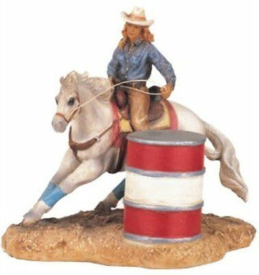 """4.5"""" Inch Rodeo Cowboy Statue Western Figurine Country Figure Cowgirl"""