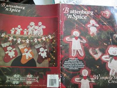 Battenburg 'n Spice Gingerbread People Ornaments Craft Booklet-Wimpole Street Cr