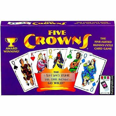 Award Winning Five Crowns Card Game The Five Suited Rummy Style Family Fun Activ