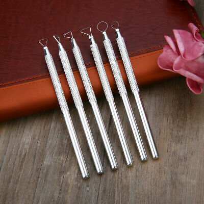 6 Aluminum SCULPTING Modeling WAX Soap CARVING TOOL FOR CLAY WAX Sculpture Craft
