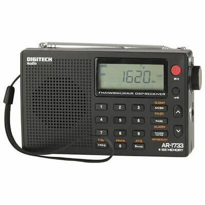 NEW BRAND PLL World Band Radio Manual Includes carry case