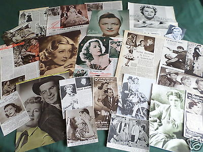 Irene Dunne - Film Star - Clippings /cuttings Pack