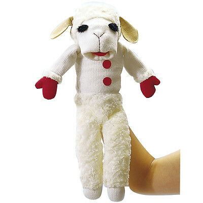 NEW Shari Lewis' Talking Lamb Chop Character Hand Puppet w/ 9 Different Phrases